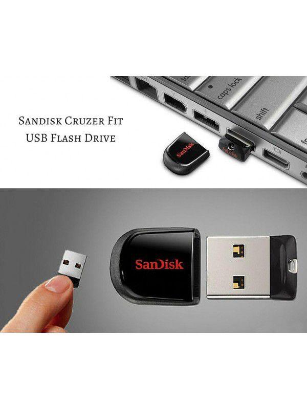 PEN DRIVE CRUZER FIT NANO 8GB - USB 2.0 - SANDISK