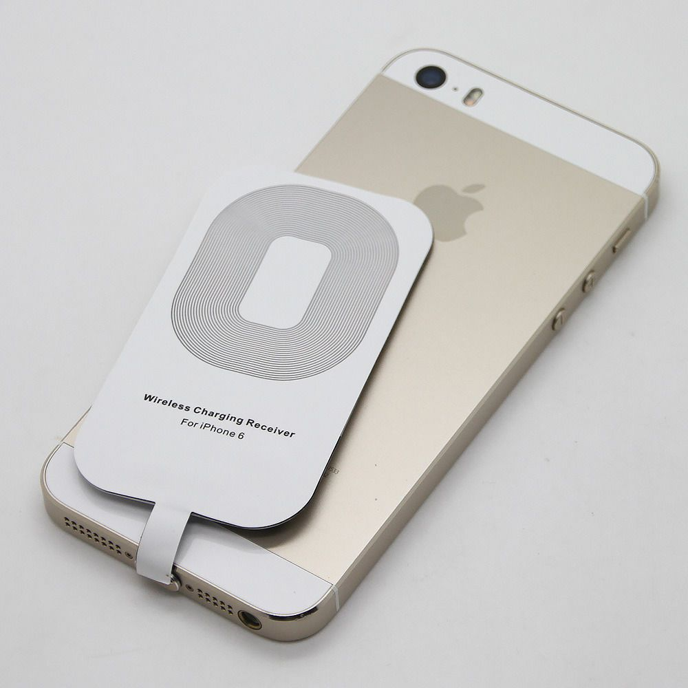 Receptor Qi Wireles Charger Receiver Lightning