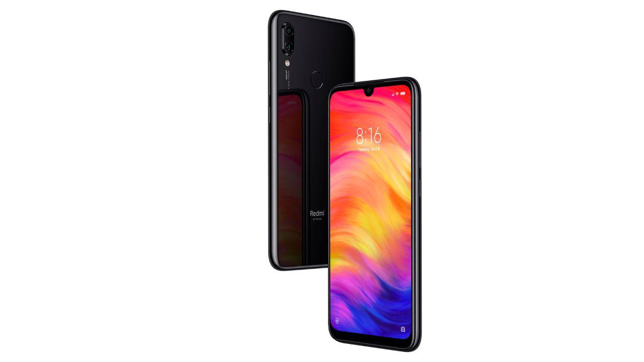 Smartphone Xiaomi Redmi Note 7 Tela Infinita 6.3 Pol Ram 4gb 64gb Câmera Dupla 48/5mp Preto