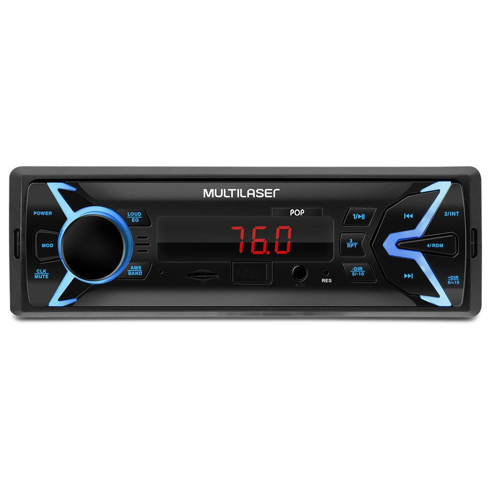 Som Automotivo Radio Pop Mp3 Player Multilaser P3335