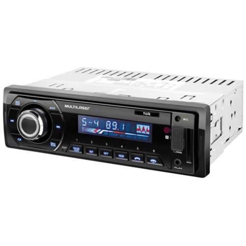 Som Automotivo Radio Talk Mp3 Player Multilaser P3214