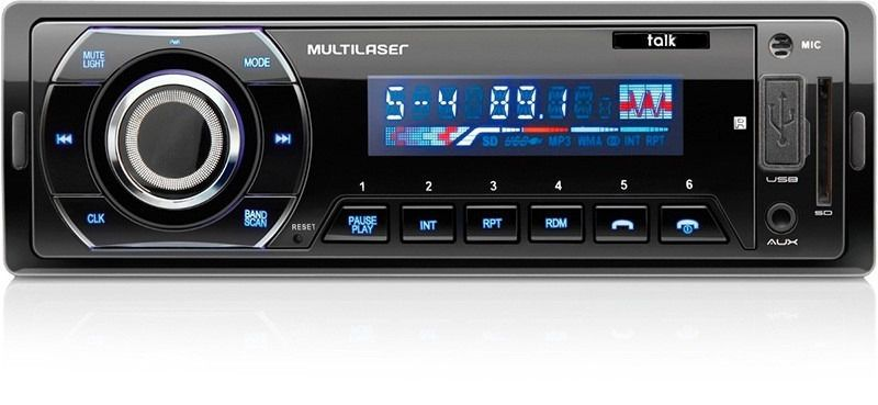 Som Automotivo Radio Talk Mp3 Player Multilaser P3214