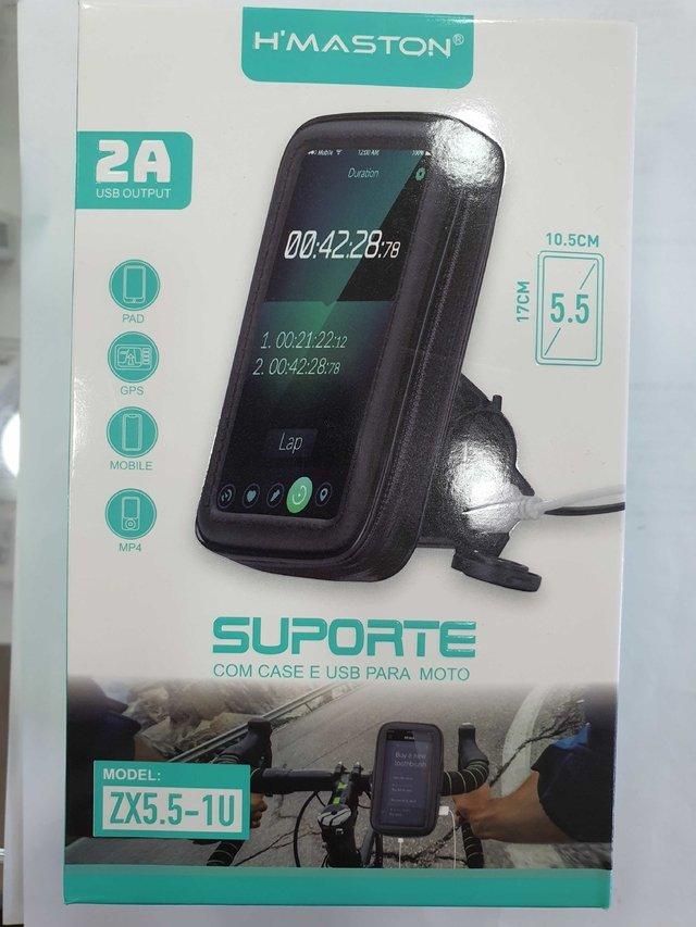 SUPORTE P/ MOTO H´MASTON  ZX5.5-1U