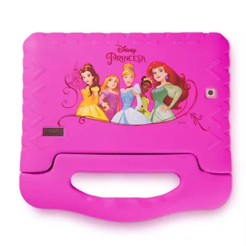 Tablet Disney Princesas Plus Wifi 8GB Dual Câmera Android 7 Rosa Multilaser