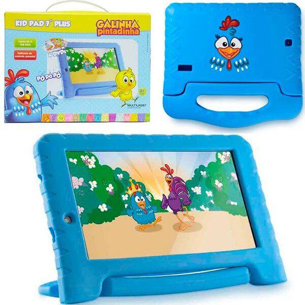 Tablet Infantil Multilaser NB282 Galinha Pintadinha