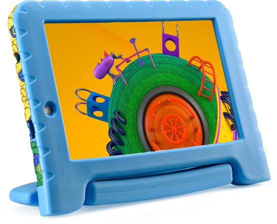 Tablet Infantil Multilaser NB290 Discovery Kids