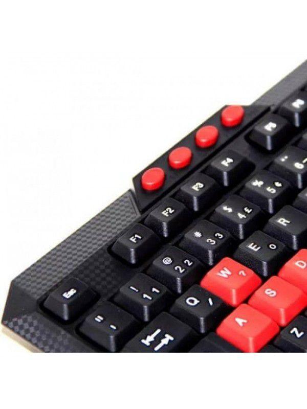 TECLADO GAMER MULTIMÍDIA USB - XZ-536