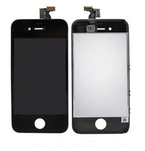 Tela Iphone 4g/4s Lcd Touchscreen Preto Ou Branco