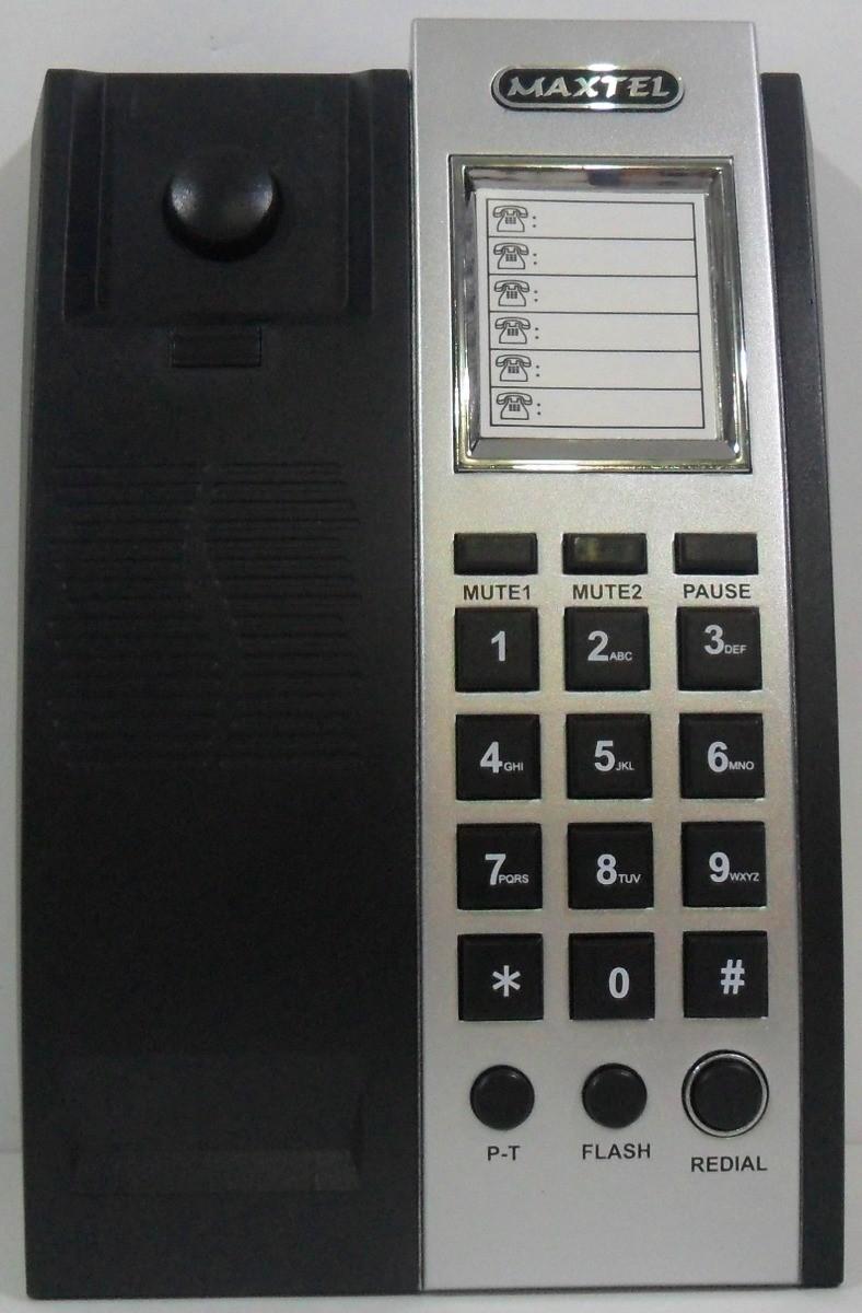 TELEFONE C/ FIO MAXTEL KXT - 3035