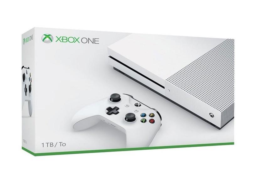 VIDEO GAME XBOX ONE S 1TB COM 1 CONTROLE