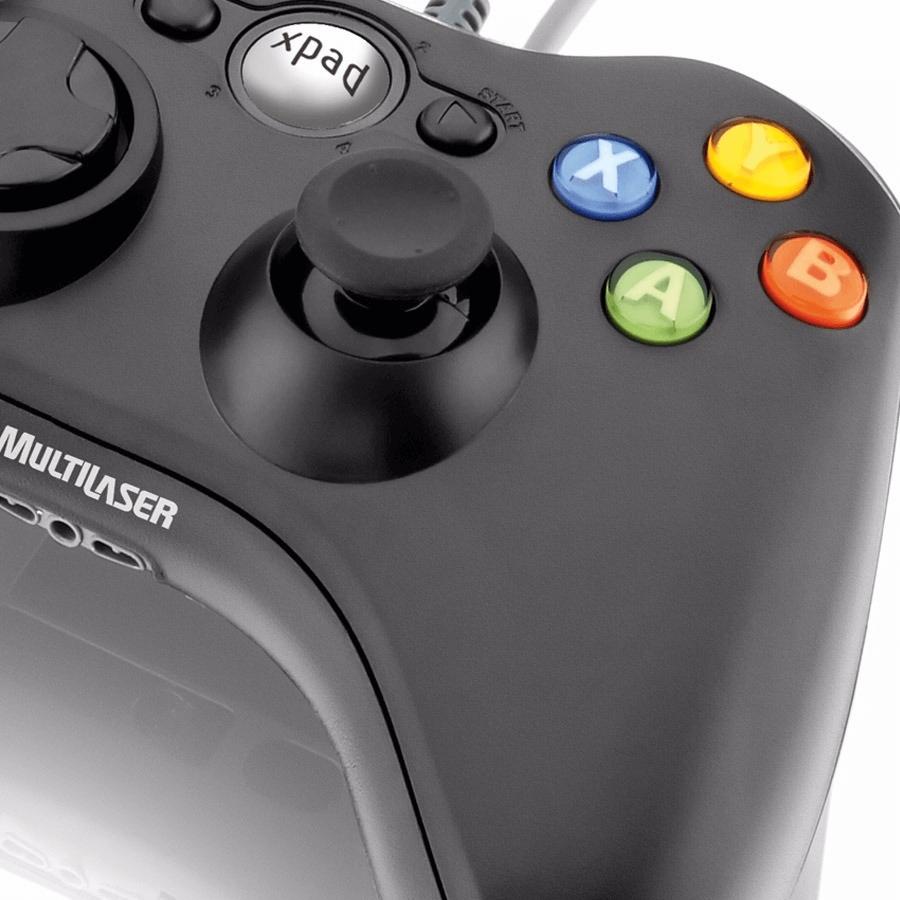 Controle Multilaser Xbox Preto JS063