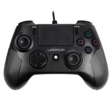 Controle Warrior PS4 Preto Multilaser - JS083