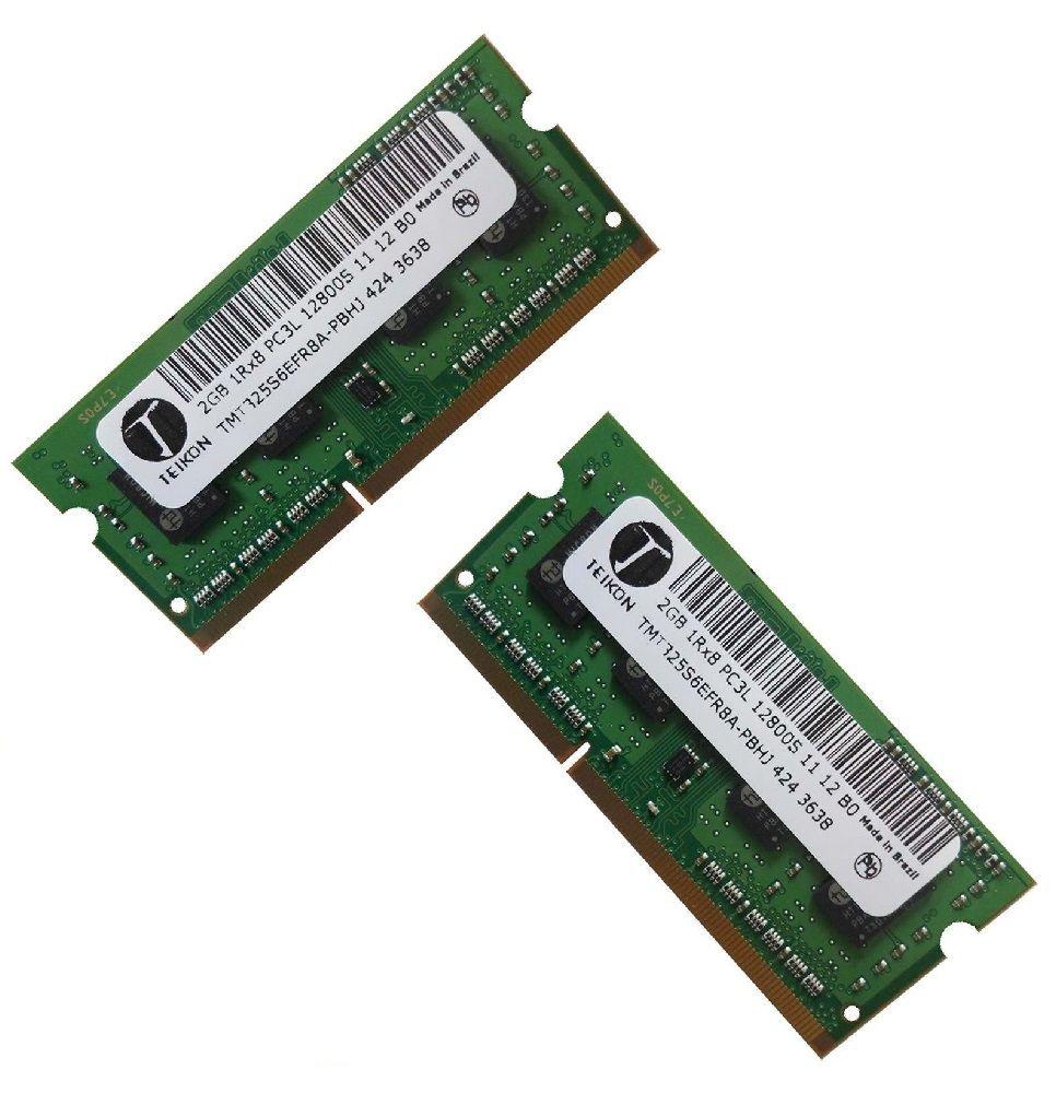 Kit Memória Notebook DDR3L 4gb (2x2gb) 1600MHZ Teikon PC3L 12800S