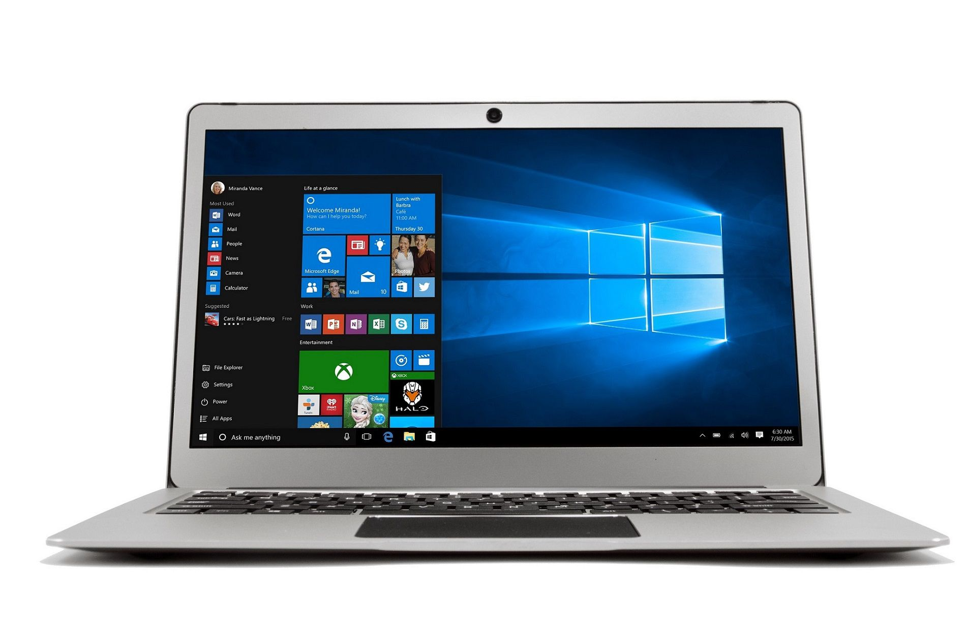 Notebook Happy Intel Celeron Tela 13.3 2gb Prata Windows 10