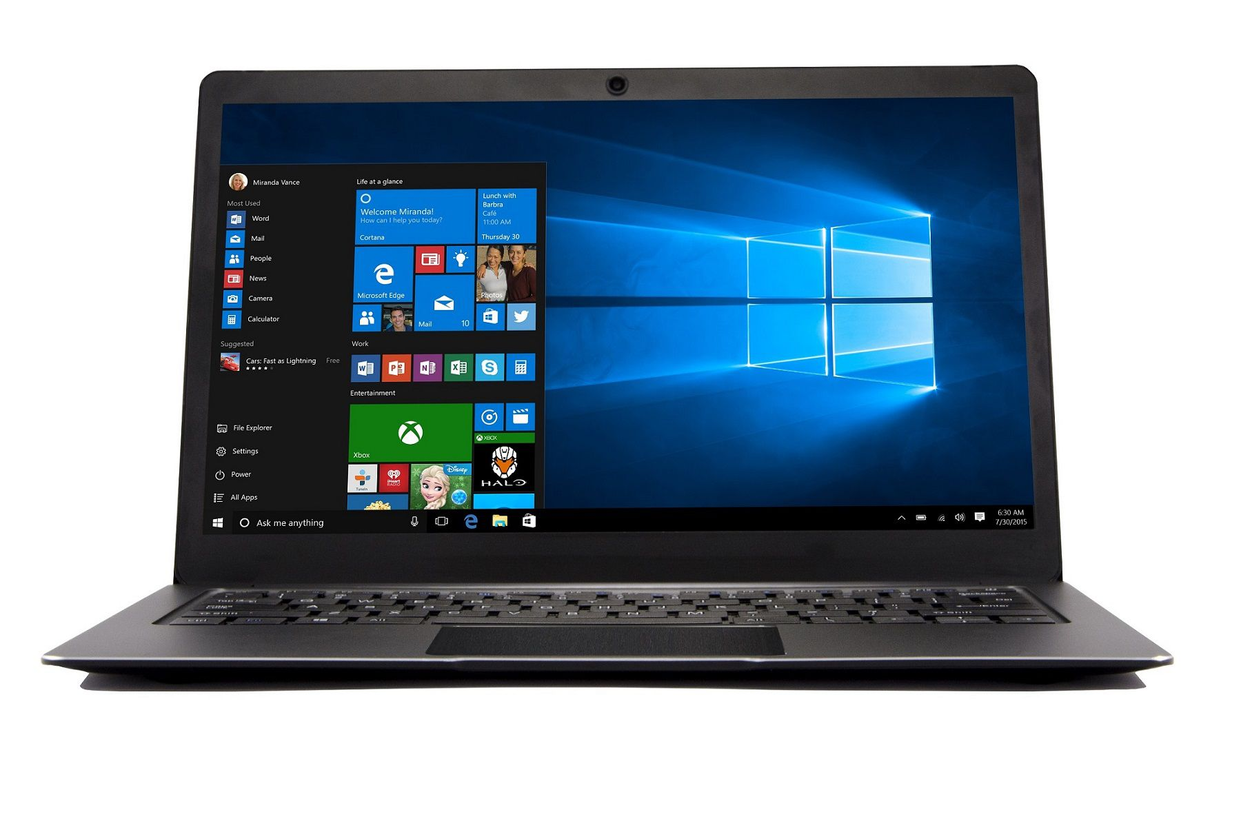 Notebook Happy Intel Celeron Tela 13.3 2gb Preto Windows 10