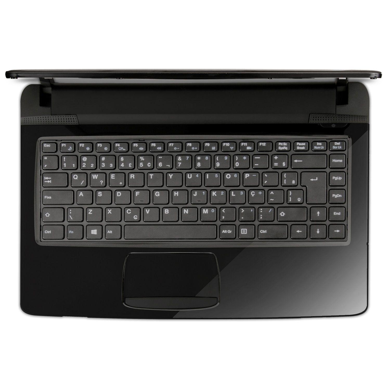 "Notebook Qbex NX500 14"" AMD Dual Core 4GB HD 500GB Linux"