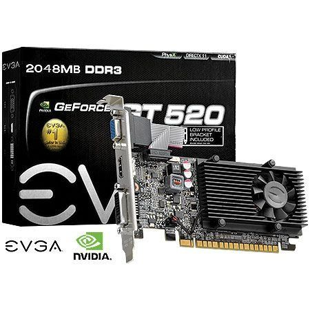 Placa De Video Nvidia Gt 520 2 Giga DDR3