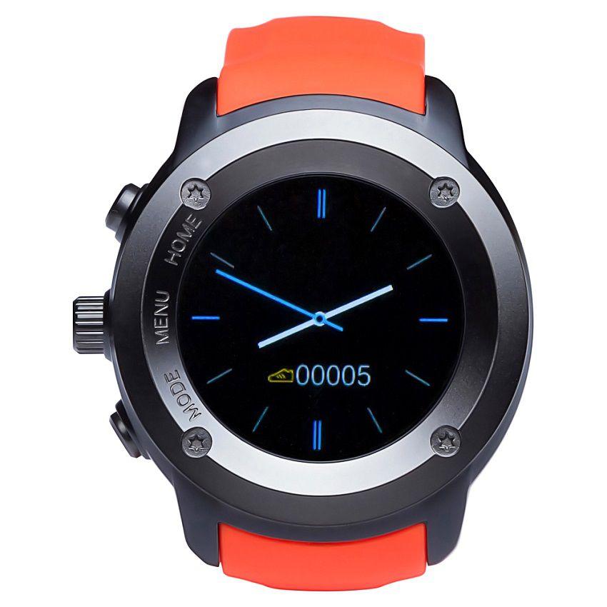 Smartwatch Dw028 Touch 1.3' Gps Bt Monitor Cardíaco Laranja