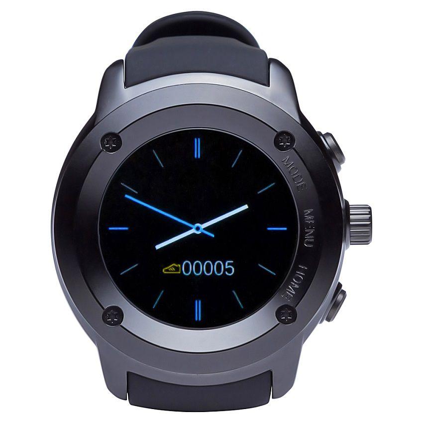 Smartwatch Dw028 Touch 1.3' Gps Bt Monitor Cardíaco Preto