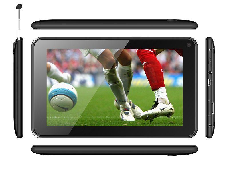 Tablet DTV TX780 Tela 7' 8GB de Armazenamento Preto
