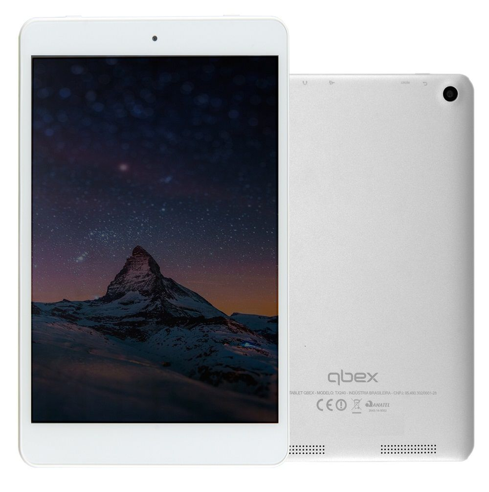 "Tablet TX240 7.85"" 8GB Dual Core A23 Cinza"