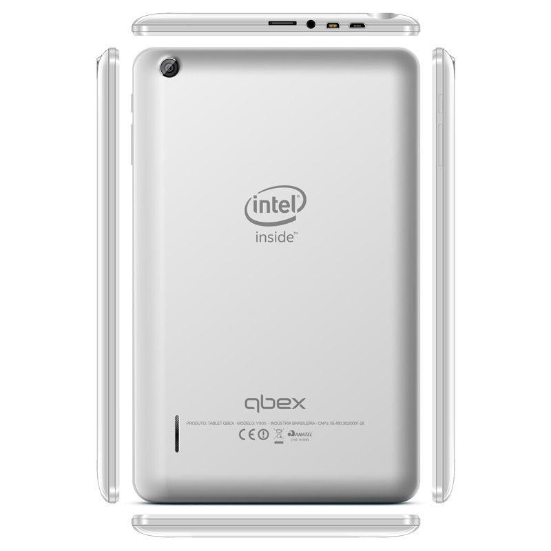 """Tablet Tx420 8"""" 16gb Quad Core Windows 8.1 Branco"""