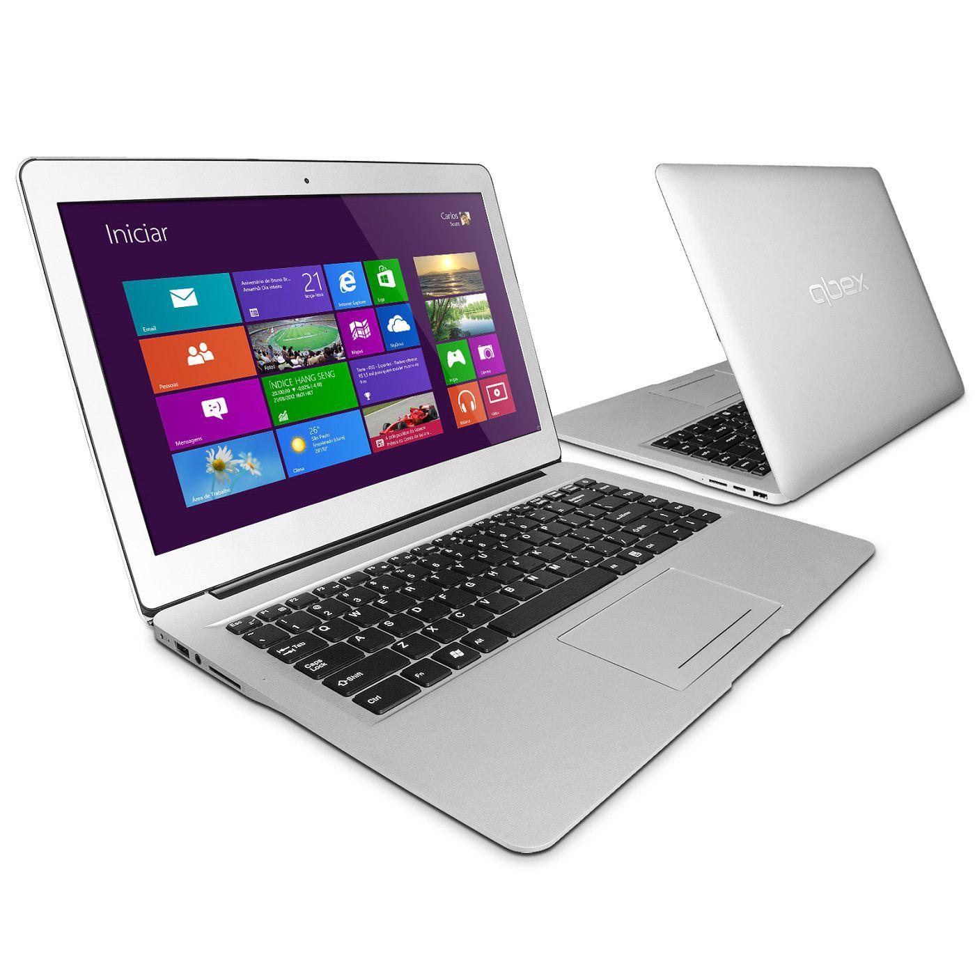 Ultrabook Qbex UX400 Core I5 4Gb HD 500GB 14' Windows 8
