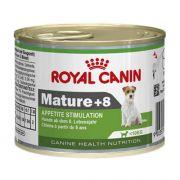Ração Úmida Royal Canin Mature +8 Cães Adultos Raças Pequenas 195g