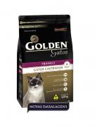 Ração Golden Castrados Gatos Adultos Frango