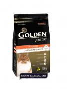 Ração Golden Castrados Gatos Adultos Salmão