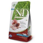 Ração N&D Grain Free Castrados Gatos Adultos Frango e Romã