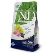 Ração N&D Grain Free Gatos Adultos Cordeiro e Blueberry