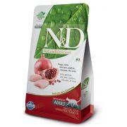 Ração N&D Grain Free Gatos Adultos Frango e Romã 7,5kg