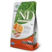 Ração N&D Grain Free Gatos Adultos Peixe e Laranja 7,5kg