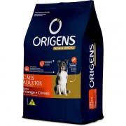 Ração Origens Premium Especial Frango e Cereais Cães Adultos 15KG