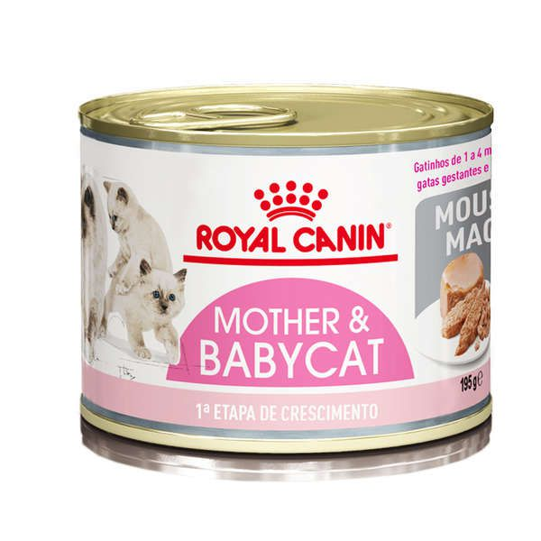 Alimento Úmido Royal Canin Mother & Baby Cat Mousse 195g