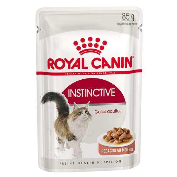 Alimento Úmido Sachê Royal Canin Instinctive Wet Gatos Adultos 85g