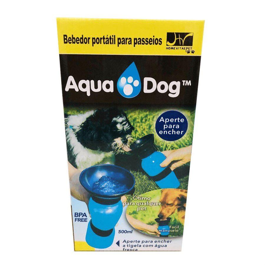 Bebedouro Portátil Aqua Dog Azul
