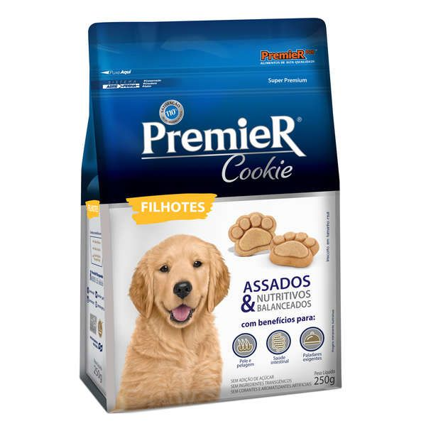 Biscoito Cookie Premier Cães Filhotes 250g