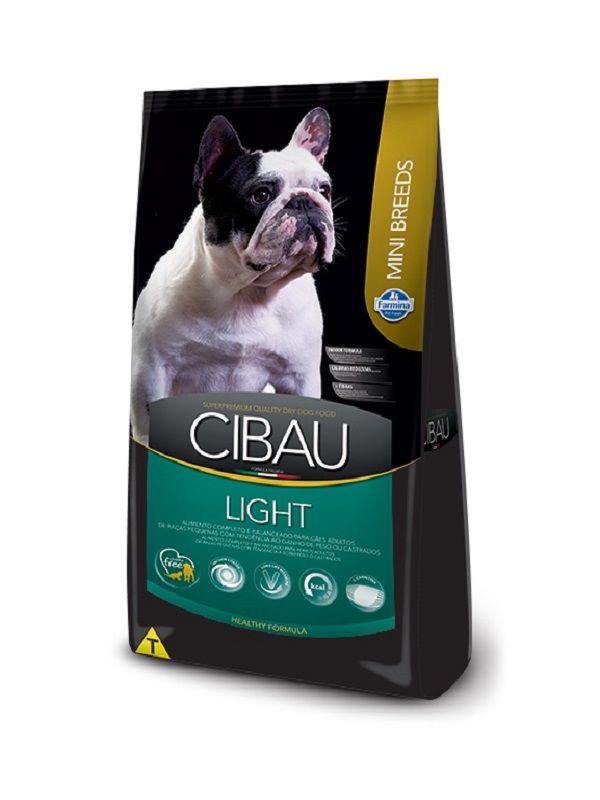 Ração Cibau Light Cães Adultos Raças Pequenas 3,0kg