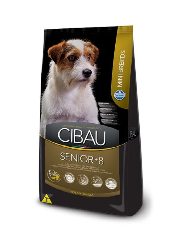 Ração Cibau Sênior Cães Adultos Raças Pequenas 3,0kg