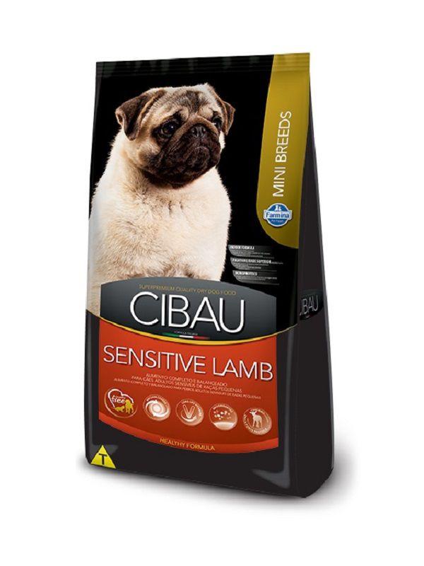 Ração Cibau Sensitive Lamb Cães Adultos Raças Pequenas 3,0kg