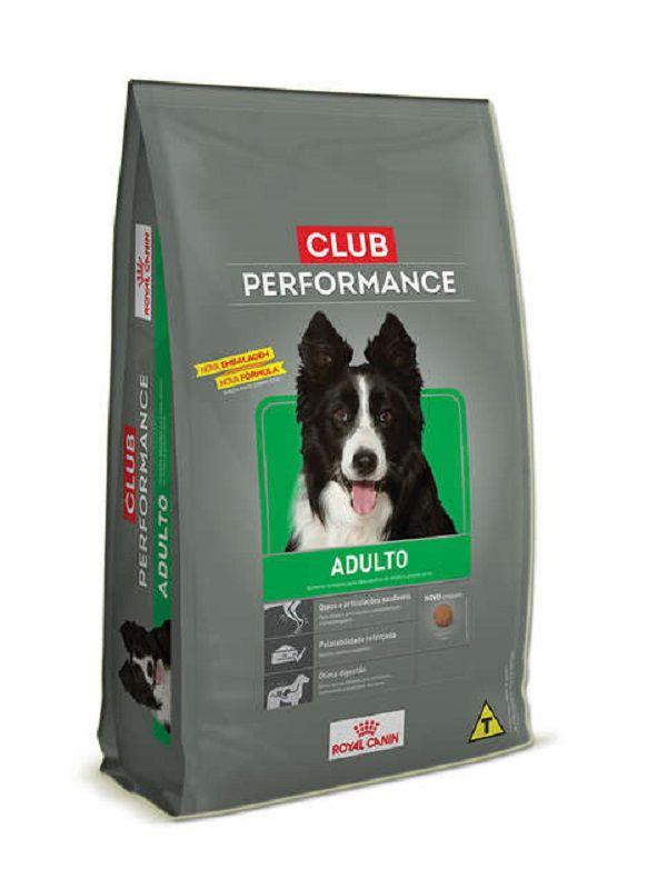 Ração Club Performance Cães Adultos