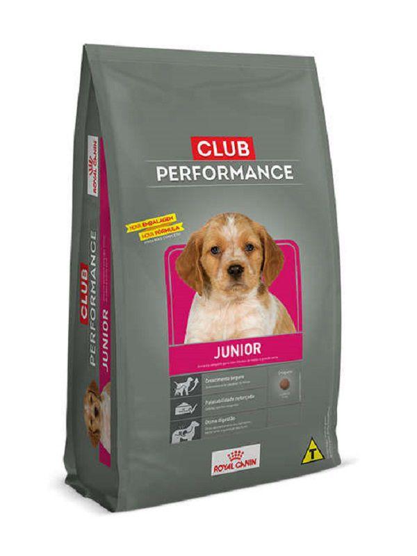 Ração Club Performance Junior Cães Filhotes