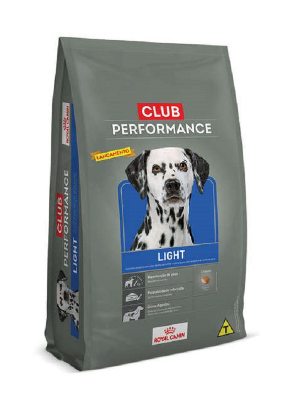 Ração Club Performance Light Cães Adultos 15Kg