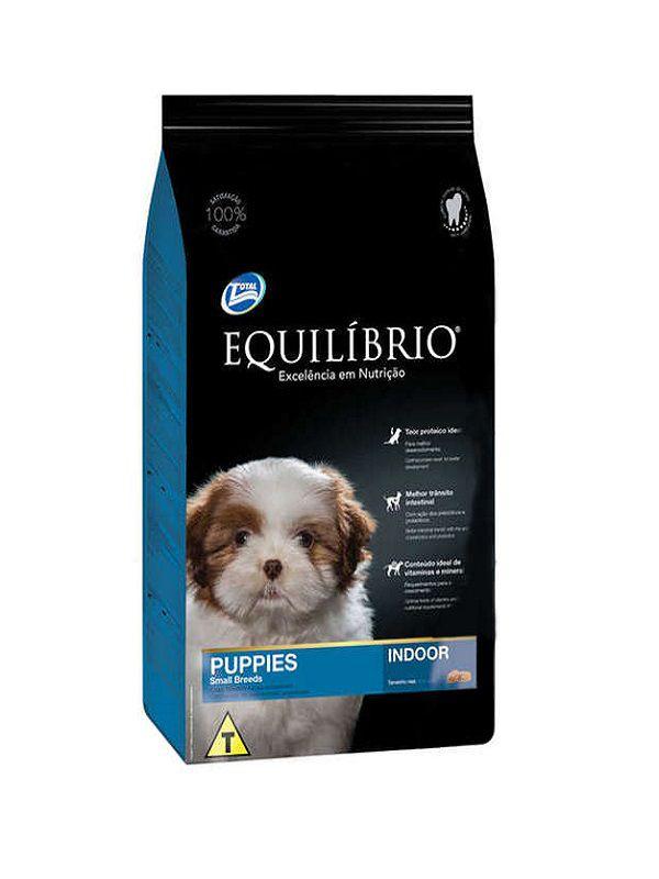 Ração Equilíbrio Indoor Cães Filhotes Raças Pequenas 2,0 Kg