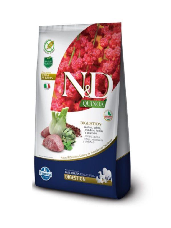 Ração N&D Quinoa Digestion Cães Adultos Cordeiro 10,1kg