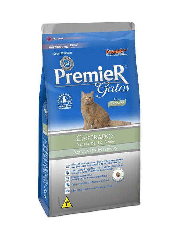 Ração Premier Castrados 12+ Gatos Adultos