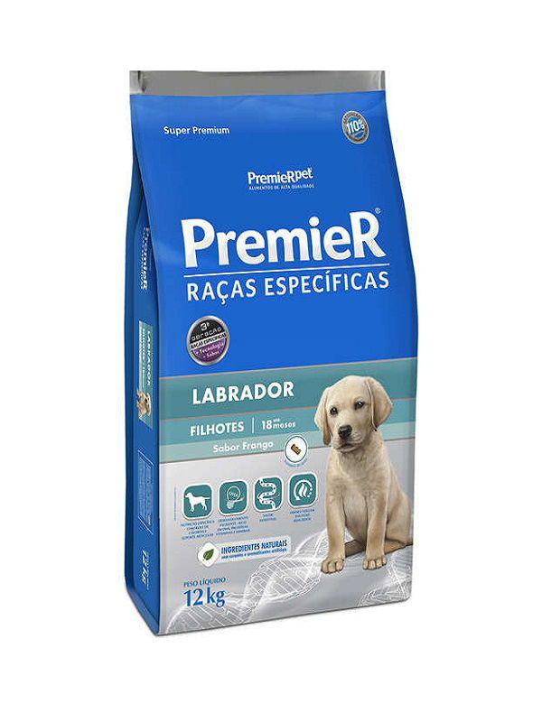 Ração Premier Labrador Cães Filhotes 12Kg
