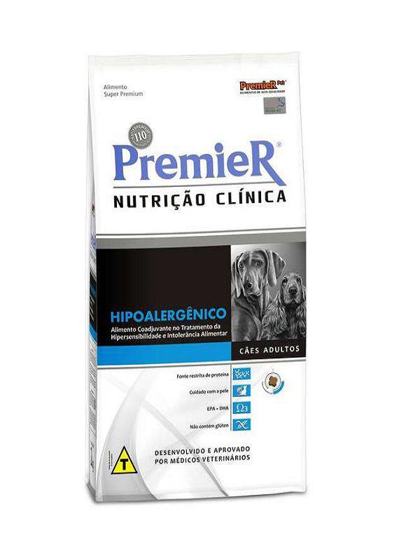 Ração Premier Nutrição Clínica Hipoalergênico Cães Adultos